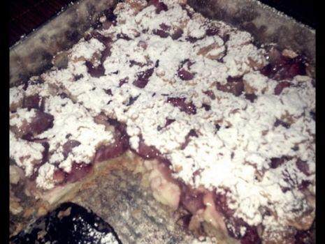 Przepis: Ciasto budyniowe z owocami