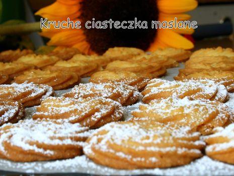 Przepis: Kruche ciasteczka maślane