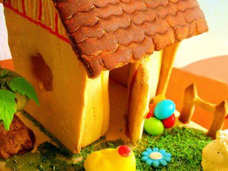 Przepis: Wielkanocny domek