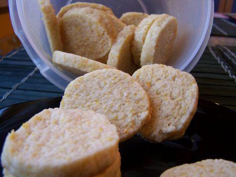 Przepis: Ciasteczka z pomarańczą i gałką muszkatołową