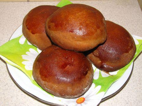 Przepis: Pączki z piekarnika