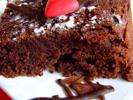 Przepis: Francuskie ciasto czekoladowe