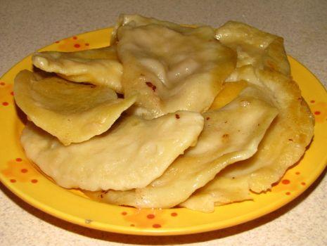 Przepis: Pierogi z serem / Pierogi z jabłkiem