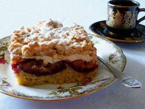 Przepis: Ciasto ze śliwkami bardzo smaczne