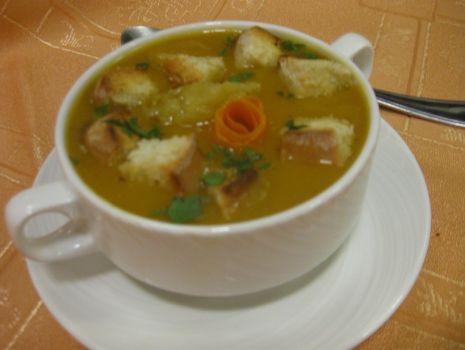 Przepis: Kremowa zupa z pieczonej dyni