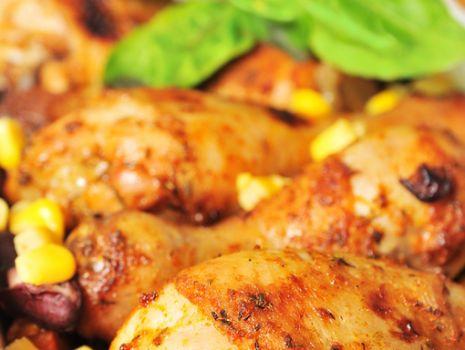 Przepis: Rozmarynowy kurczak z warzywami