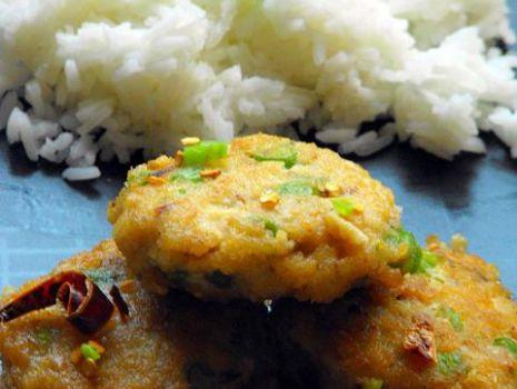 Przepis: Tajskie racuszki rybne z fasolką szparagową