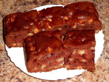 Przepis: Ciasto z jabłkami cioci Jasi