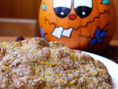 Przepis: Ciasteczka razowe z dynią
