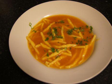 Przepis: Zupa krem ze świeżych pomidorów