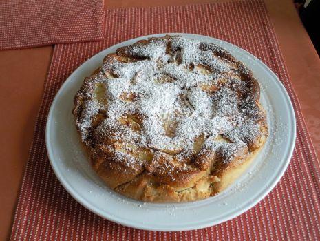 Przepis: Ciasto z jabłkami beztłuszczowe