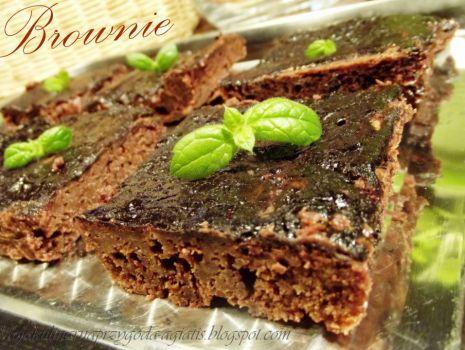 Przepis: Brownie - ciasto czekoladowe