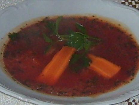 Przepis: Czerwona zupka