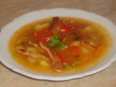 Przepis: Leczo-zupka
