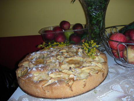 Przepis: jabłkowa babka