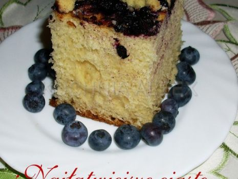 Przepis: Najłatwiejsze ciasto drożdżowe wg Aleex