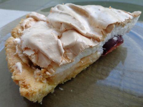 Przepis: Ciasto owocowe z pianką