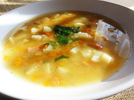Przepis: Zupa grochowa