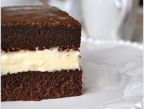 Przepis: Ciasto milka/ mleczna kanapka - przepis