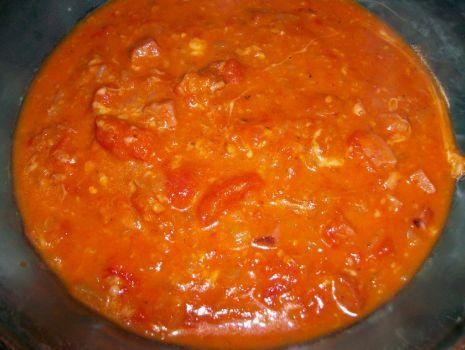 Przepis: potrawkowa zupa z pomidorów