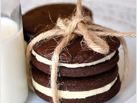 Przepis: Domowe ciastka oreo - przepis