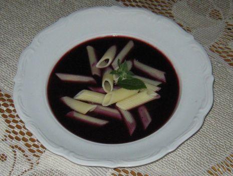 Przepis: Zupa jagodowa