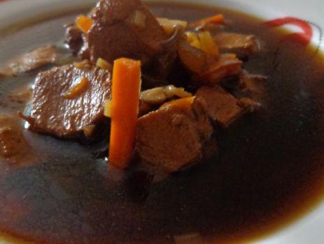 Przepis: Zupa prawie chińska