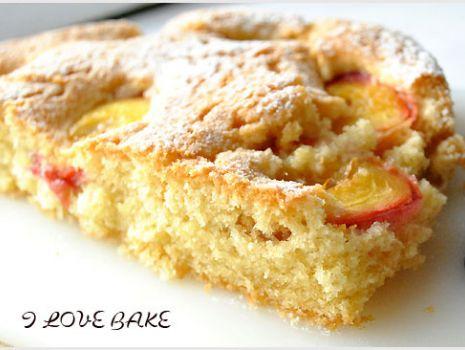Przepis: Ciasto z nektarynkami - przepis