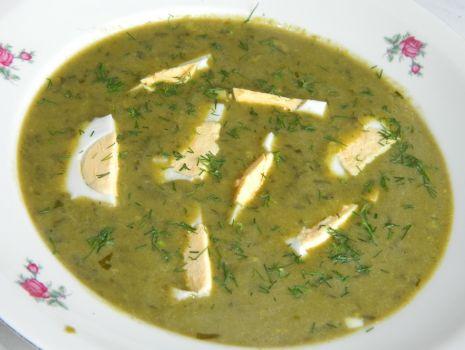 Przepis: Zupa szczawiowa