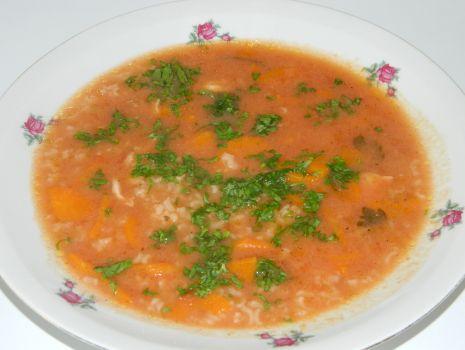 Przepis: Zupka pomidorowa z ryżem