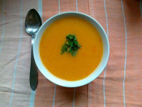 Przepis: Zupa krem z papryką
