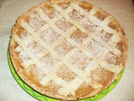 Przepis: Tarta z jabłkami o smaku cytrynowym