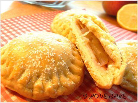 Przepis: Ciastka z nadzieniem jabłkowym