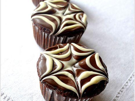 Przepis: Czekoladowe muffinki - przepis