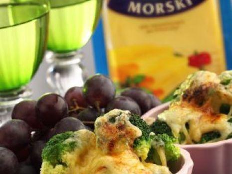 Przepis: Grillowane brokuły z serem
