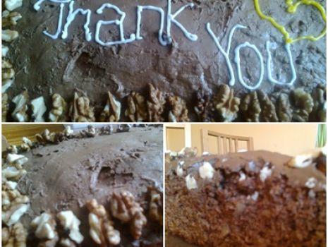 Przepis: Ciasto czekoladowe z nutką orzechową