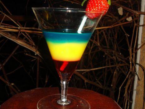 Przepis: Drink   kolory wiosny