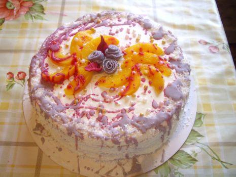 Przepis: Urodzinowy torcik