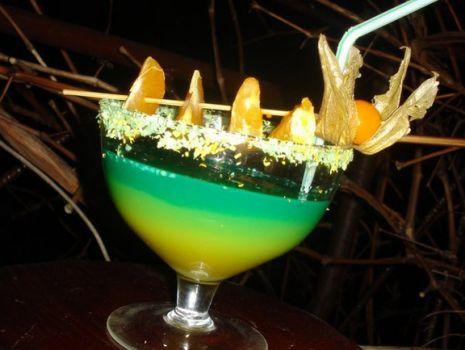 Przepis: Drink  mandarynkowy ogród