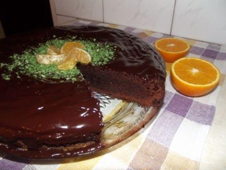 Przepis: Brownie - mocno czekoladowe ciasto