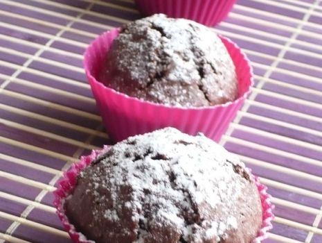 Przepis: Muffinki z nutellą