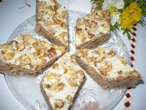 Przepis: Ciasto z dyni z białą czekoladą