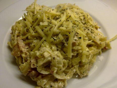 Przepis: Spaghetti carbonara