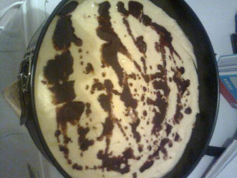 Przepis: Ciasto z serkiem