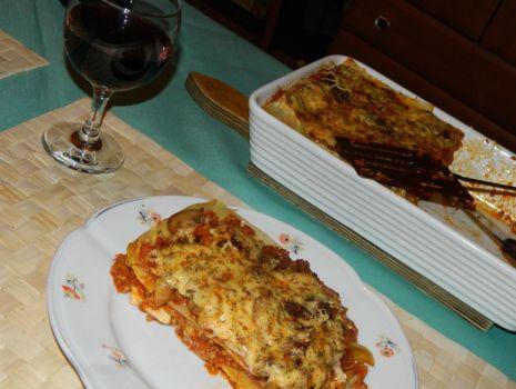 Przepis: Lasagne