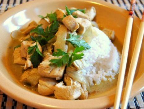 Przepis: Kurczak w Zielonym Curry