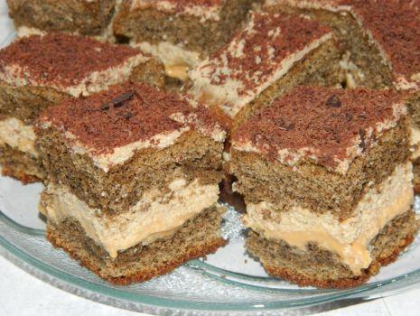 Przepis: Ciasto kawowe z karmelem
