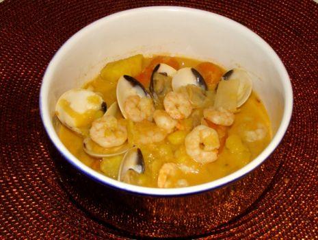 Przepis: Azjatycka zupa tropikalna