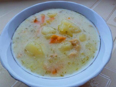 Przepis: Seria tanie obiady- Zupa ogórkowa w 30 min na skwarkach wg mojej mamy