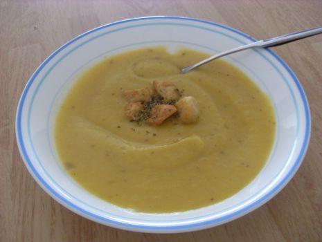 Przepis: Zupa-krem ze squasha (dyni piżmowej)
